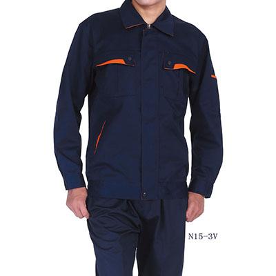 长袖涤棉工作服N15-3V 3色
