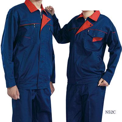 长袖涤棉工作服N52C 4色