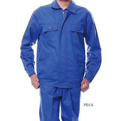 长袖涤棉工作服P02A 2色