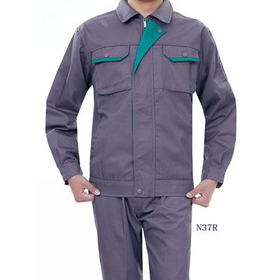 长袖涤棉工作服N37R 2色