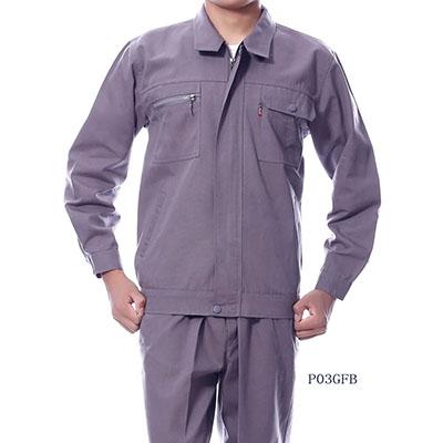 长袖涤棉工作服P03GFB 3色